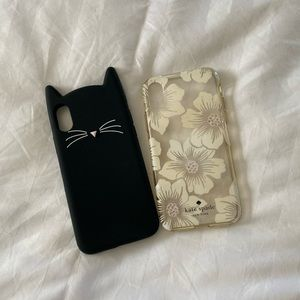 Set of 2 phone cases